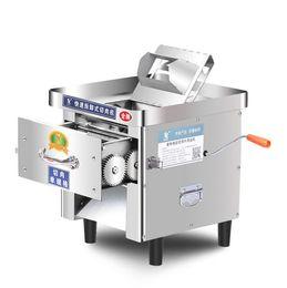 Aço inoxidável de alta qualidade de carne Cortador Elétrica Meat Slicer Para Casa Restaurante Hotel Household venda pode ser trabalho de mão em Promoiio