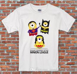 $enCountryForm.capitalKeyWord Australia - Minions League Justice Batman Superman Wonder Woman T Shirt S - 2XL