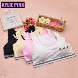Girls' Clothing Young Girls Wireless Padded Training Bra Teenage Sport Underwear 12-18y Small Teen Bras
