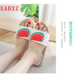 042a43d8962ec5 Slippers Fruits NZ - EABXZ Summer slippers indoor women s slippers home  Korean version of fruit outdoor