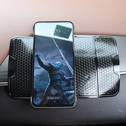 magic gel pad phone holder 2019 - Car Dashboard Phone Holder Anti-Slip Mat In Car Accessories Interior Sunglasses Holder Magic Sticky Gel Pads Auto Non Sl