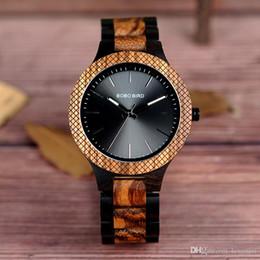$enCountryForm.capitalKeyWord Australia - BOBO BIRD high quality top selling designer wood watches men quartz wrist watches 2018 vintage men