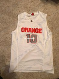 Cheap custom 2009 Syracuse Orange  10 Basketball Jersey Jonny Flynn Stitched  Customize any number name MEN WOMEN YOUTH XS-5XL e7daad5d2
