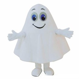$enCountryForm.capitalKeyWord UK - Halloween White Ghost Mascot Costume Cartoon specter Anime theme character Christmas Carnival Party Fancy Costumes Adult Outfit