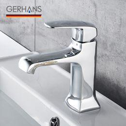 $enCountryForm.capitalKeyWord UK - GERHANS Leocube Bathroom Basin Faucet Modern Single Handle Lavatory Solid Brass Wash Basin Faucet Sink Tap Mixer Crane K11006