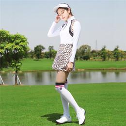 $enCountryForm.capitalKeyWord Australia - PGM Women Golf Skirt Lady Sleeveless T-shirt Sportswear Leisure Sport Tennis A Skirt Slim Comfortable Breathable