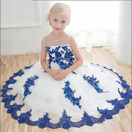 Birthday Party T Shirts Australia - Pincess Pageant Flower Girl Dresses Party Dress Kids Gown Children Birthday Girl Baby Toddler Dress DHA50