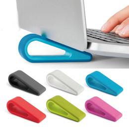 Cool Car Colors online shopping - 1pc Simple Laptop Stand Adjustable Bracket Desktop Computer Increased Shelf Cooling Base Pad Bracket Office Supplies Colors car