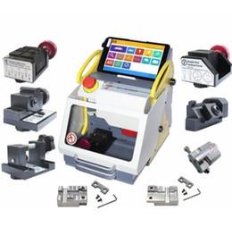 Sec Cars Australia - 2019 DHL free shiping SEC-E9 Full Clamps CNC Automatic Key Cutting Machine For Car Keys & House Keys Better Than Slica I80 Key Machine
