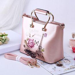 $enCountryForm.capitalKeyWord NZ - Wild2019 Printing Flower Handbag Ma'am Finalize The Design Bag Hand Bill Of Lading Shoulder Span Package Bale