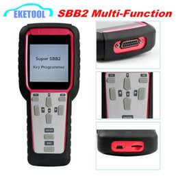 Function Connectors Australia - 2019 SBB2 Key Programmer Handheld Scanner Powerful Function Than Old SBB CK100 Supports Multi-Brand Cars SBB2 Super Auto Key