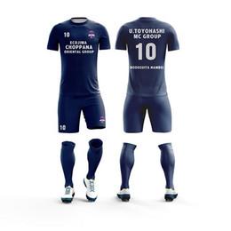 feba690b5 2019custom Jersey Soccer Kit Mens Sports Suits Professional Football  Jerseys Custom Design Tracksuit Soccer jersey Uniform