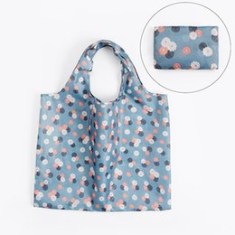 $enCountryForm.capitalKeyWord UK - 1 PC Foldable Shopping Bag Large-capacity Waterproof Cloth Bag Two In One Repeatable Use Storage Can Wash Organizer
