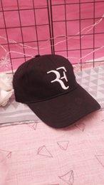 Free Cooling Fan Australia - 2019 Mens Womens Roger Federer Men Summer Cool Mesh Caps Roger Federer RF Tennis Fans Caps Cool Summer Baseball Mesh Net Trucker Tennis