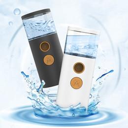 $enCountryForm.capitalKeyWord Australia - USB Chargeable Nano Sprayer Facial Body Hydration Moisturizing Portable Skin Care Face Spray Beauty Water Instruments HHA372
