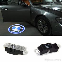 Bmw M3 Lights Australia - Ghost Shadow Light Welcome Laser Projector Lights LED Car Door Logo For BMW M E60 M5 E90 F10 X5 X3 X6 X1 GT E85 M3