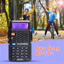 Wholesale hams radio for sale – custom Baofeng Walkie Talkie BF F8 V UHF MHz HandHeld Two way Ham FM Radio US