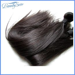 brazilian straight hair products 2019 - Beautysister Hair Products Natural Brazilian Straight Virgin Human Hair Extensions Weaves 4Bundles 400g Lot Natural Colo