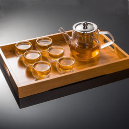 $enCountryForm.capitalKeyWord NZ - 2019 Brand New 50ML Elegant Clear Glass Tea Cup Heat Resistant Double Wall Layer Glass for Flower Tea