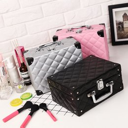 Linen Cosmetic Bags Cases Australia - portable large-capacity cosmetic case cosmetic storage bag waterproof travel portable professional multi-layer cosmetic bag