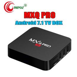 $enCountryForm.capitalKeyWord Australia - MXQ Pro 4K Android 7.1 TV Box Amlogic S905W RK3229 Quad Core Smart Mini PC 1G 8G Support Wifi 4K H.265 Streaming Google IPTV Media Player