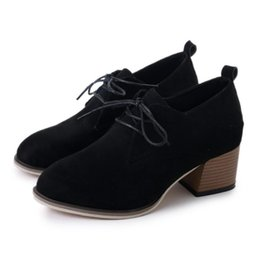 $enCountryForm.capitalKeyWord NZ - Dress Women's Pumps Platform Heels Women Ankle Boots Soft Thick High Heel Platform Pumps Female 2019 Autumn Winter Zapatos Mujer A8