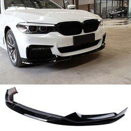 $enCountryForm.capitalKeyWord Australia - M-P Style PP material Bumper Bright black Front Lip For BMW 5 Series G30 G38 525i 530i 540d