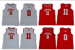 $enCountryForm.capitalKeyWord Australia - College Basketball NCAA Indiana Hoosiers #0 Romeo Langford 11 Isiah Thomas 4 Victor Oladipo Red White Stitched College Basketball Jersey