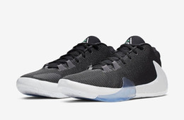 glitter store Australia - Kids Freak 1 Black White boys for sales With Box Giannis Antetokounmpo GS men women basketball shoes store us4-us12