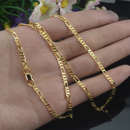 $enCountryForm.capitalKeyWord Australia - GNIMEGIL 5pcs Lot Gold Color Silver Color Thin 2mm Box Chain Necklaces for Women Men 16 18 20 22 24 26 28 30 inches Jewelry