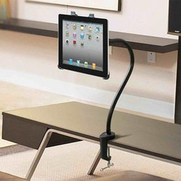 table mount ipad NZ - 360 Table Desk Bed Wall Mount Stand Holder For iPad Air 1 2 3 4 5 Mini Tablet PC