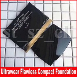 ConCealer perfeCtion online shopping - Famous Face Makeup Le Teint Ultra Compact Perfection Concealer Matte Finish Lumineux Ultrawear Flawless Foundation Powder With Puff g