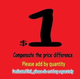 Itens de beleza Preencha a diferença de preço Compensar a diferença de preço Dedicado Link Por favor, não compre separadamente em Promoção