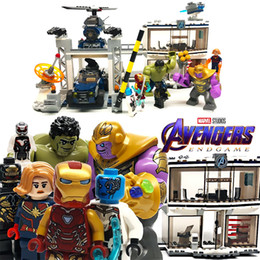 Super Blocks Australia - 783pcs Avengers 4 Super Heroes Compound Battle Compatible Legoing Building Blocks Bricks Educational Toys Christmas Gift