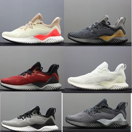 Wholesale New brand Hot Sale Alphabounce EM Casual Shoes Alpha bounce Hpc Ams M Sports Trainer Sneakers Man Shoes Size
