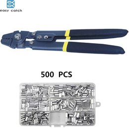 Crimping Cutter Australia - Fishing Tackle Boxes Easy Catch Stainless Steel Multifunctional crimperPliers for Fishing Line Cutter With crimping sleeves tackle box