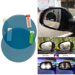 Coating Mirror Australia - 2PCS Rainproof Car Rearview Mirror Waterproof Anti Fog Rain Proof Coating PET Film Covers rain blades sticker