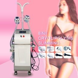 $enCountryForm.capitalKeyWord Australia - 4 Handles Lipolysis Cool Body Fat Freeze Liposuction Cryolipolysis Cavitation RF Freeze Slimming Machine Salon Use