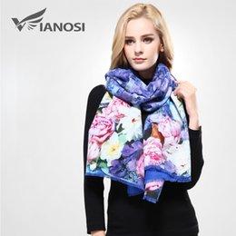 $enCountryForm.capitalKeyWord NZ - [VIANOSI] Luxury Winter Scarf Woman Digital Printed Female Brand Soft Wool Cashmere Soft Shawl and Scarves For Women VA068