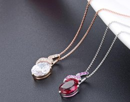 silver costume necklaces Australia - Mixed order top quality women's S925 sterling silver CZ pendants for necklace silver CZ necklace CZ silver pendant costume jewelry DDS2