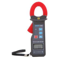 ETCR6100 CA CC Corriente de fuga Medidor probador Medidor 0.0A ~ 600A abrazadera actual banda de reloj Interfaz RS232 con almacenamiento de 99 datos en venta