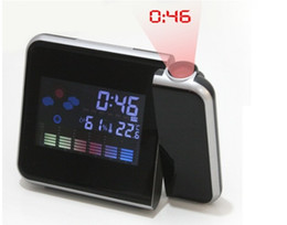 $enCountryForm.capitalKeyWord Australia - Time Watch Projector Multi Function Digital Alarm Clocks Color Screen Desktop Clock Display Weather Calendar Time Projector