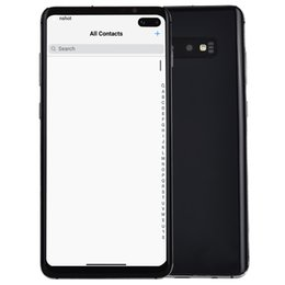 Camera video 16mp online shopping - 6 quot Punch hole Full Screen Goophone S10 G LTE Octa Core GB GB GB Android In Display Fingerprint Face ID MP Camera Smartphone