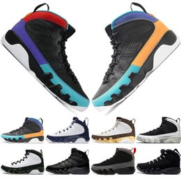 Discount dreams plush - With Box High Quality 9 9s Dream It Do It UNC Mop Melo Mens Basketball Shoes LA OG Space Jam men Bred The Spirit sports