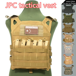 16d342ff6ba Hunting Tactical Accessoris Body Armor Plate Carrier Vest Ammo Magazine  Chest Rig Airsoft Paintball Gear Loading Bear Vests C19041502