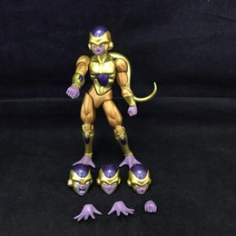 $enCountryForm.capitalKeyWord Australia - NEW hot 12cm Dragon Ball Revival F Gold Frieza collectors action figure toys Christmas gift toy with box