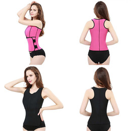 $enCountryForm.capitalKeyWord NZ - Body Shaper Slimming Vest Neoprene Sauna Vest Women Corset Tops Waist Trainer Summer Workout Shapewear Adjustable Belt For Womens Wholesale