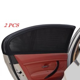 $enCountryForm.capitalKeyWord Australia - 2pcs Car Side Window Sunshades Sun Shade Cover Rear Kids Baby Max UV Protection Block Mesh Shield Accessories Car-styling