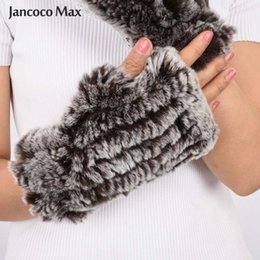 2019 Fashion New Arrival Real Fur Gloves Women Natural Fur Mittens Winter Warm Knitted Gloves S7263 from quality cell phones suppliers
