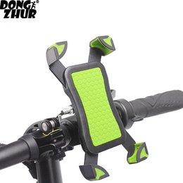 Kaymaz Evrensel 360 Dönen Bisiklet Bisiklet Telefon Tutucu Gidon Raflar Klip Akıllı Mobil Cep Telefonu Için Montaj Braketi Standı # 593096